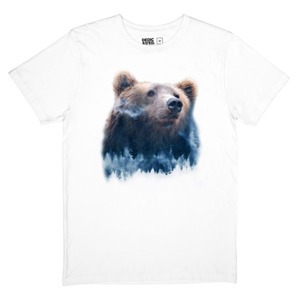 Dedicated Herren T-Shirt Stockholm Forest Bear
