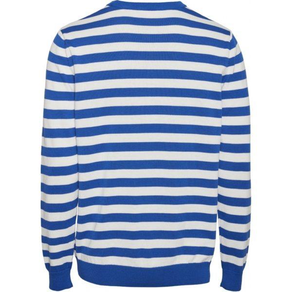 KnowledgeCotton Herren Pullover Forrest o-neck striped knit 80587