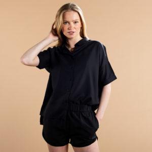 Dedicated Damen Bluse Nibe black