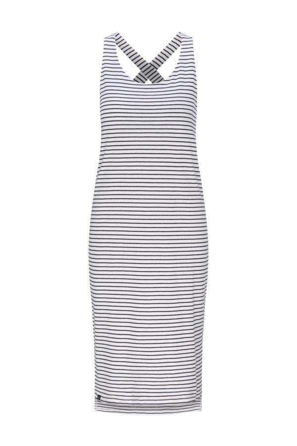Recolution Damen Kleid Sleeveless Jerseydress Stripes