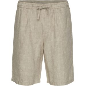 KnowledgeCotton Herren Short Birch Loose linen 50181