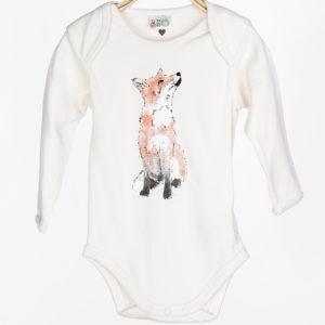 LOVEAFAIR Babybody Fuchs