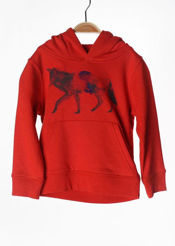 LOVEAFAIR Kinder Unisex Hoody Wolf