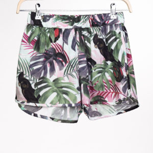 Dedicated Damen Shorts Sandvika Color leaves green