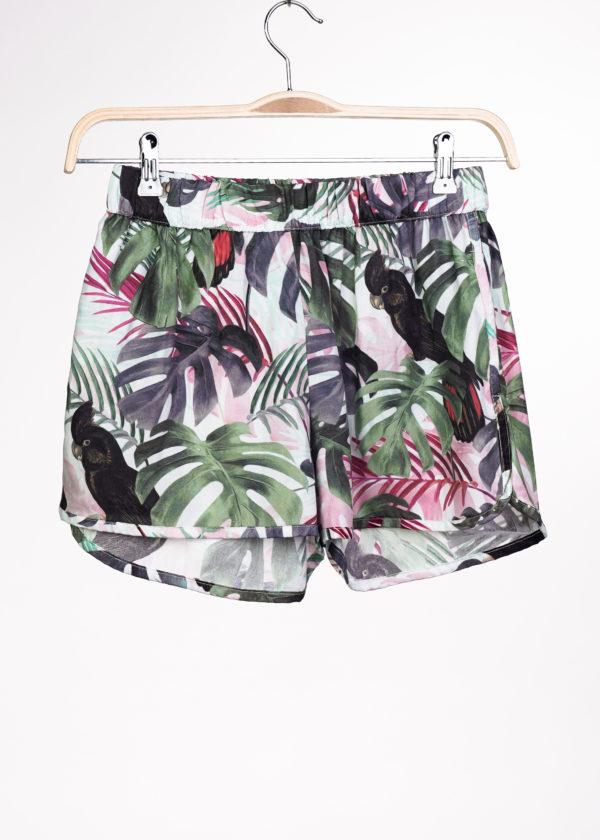 Dedicated Damen Shorts Sandvika Color leaves green