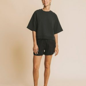 Thinking Mu Damen Shorts Mamma