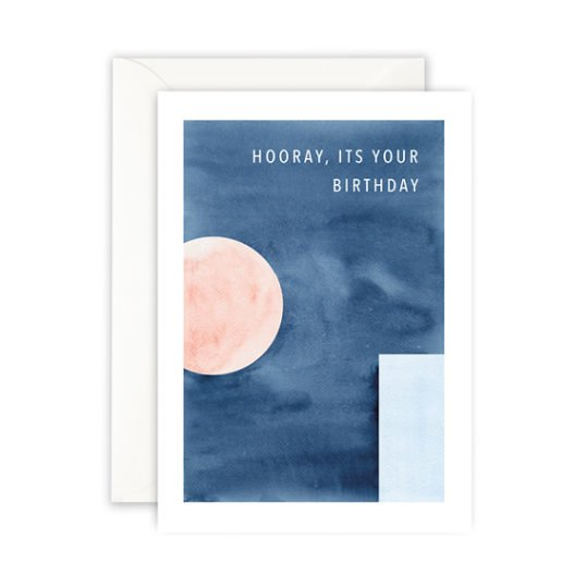 Leo La Douce Klappkarte Hooray, its your Birthday