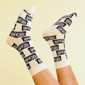 Dedicated Unisex Socken Sigtuna Tapes Gelb