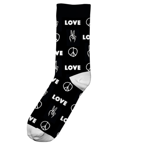 Dedicated Unisex Socken Sigtuna Peace and I