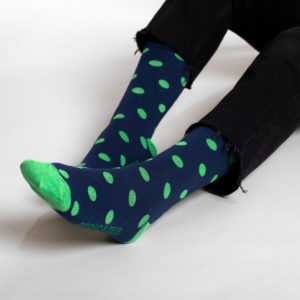 Dedicated Unisex Socken Sigtuna Dots navy