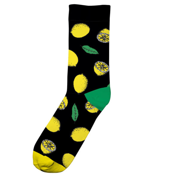 Dedicated Unisex Socken Sigtuna Lemons black