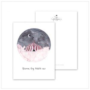 Leo La Douce Postkarte Dream Big Little One