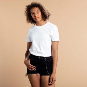 Dedicated Damen T-Shirt Mysen Base White