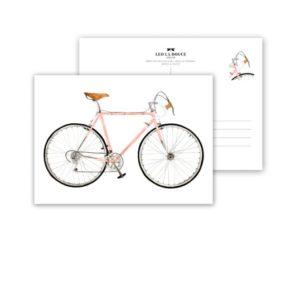 Leo La Douce Postkarte Pink Racer