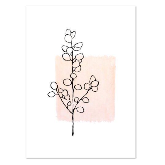 Leo La Douce Kunstdruck A4 Eukalyptus NO1