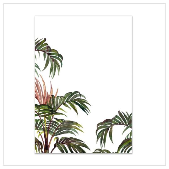 Leo La Douce Kunstdruck A4 Jungle Palm