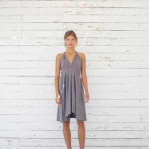 Suite 13 Damen Kleid Daphne Short Onesize Cotton/Linen Excalibur