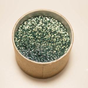 Biologisch abbaubarer Glitzer, Tannengrün