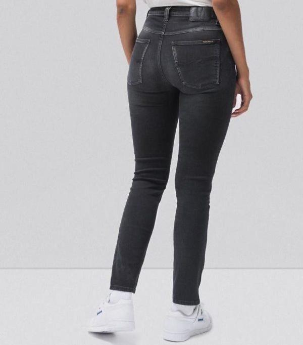 Nudie Jeans Hightop Tilde – Raven black