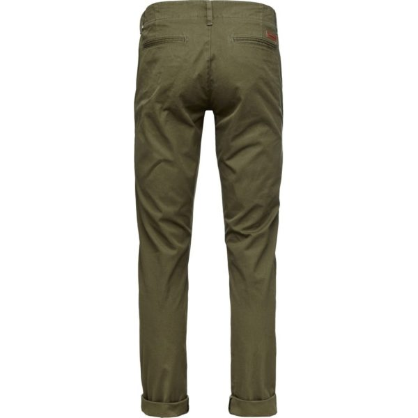 Knowledge Cotton Herren Hose  Chuck the Brain Chino 70010 burned olive