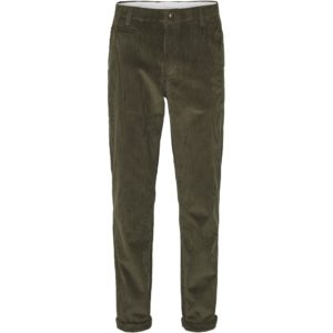 Knowledge Cotton Herren Hose Chuck 8 Wales Corduroy 70195 Forrest night