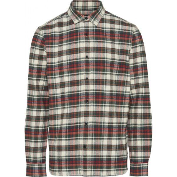 KnowledgeCotton Herren Hemd Checked Flannel 90772