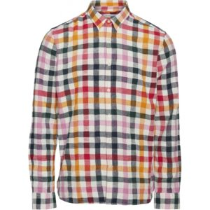 KnowledgeCotton Herren Hemd Larch LS Checked 90801