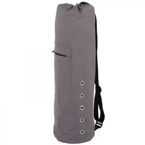 Yogamattentasche Canvas, anthrazit