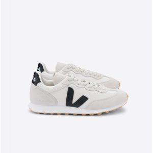 Veja Damen Schuhe Riobranco Hexamesh Gravel Black