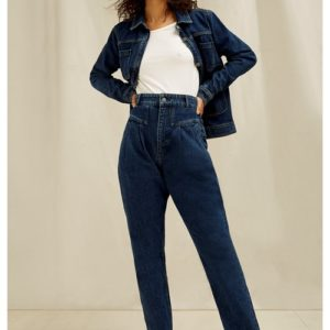 PeopleTree Damen Hose Federica Tapered Jeans