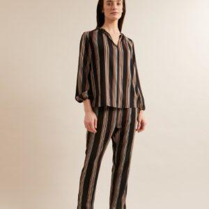 Lanius Damen Bluse mit Streifen