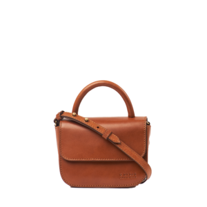 O My Bag Handtasche Nano Cognac Classic Leather