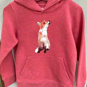 LOVEAFAIR Kinder Hoody Fuchs