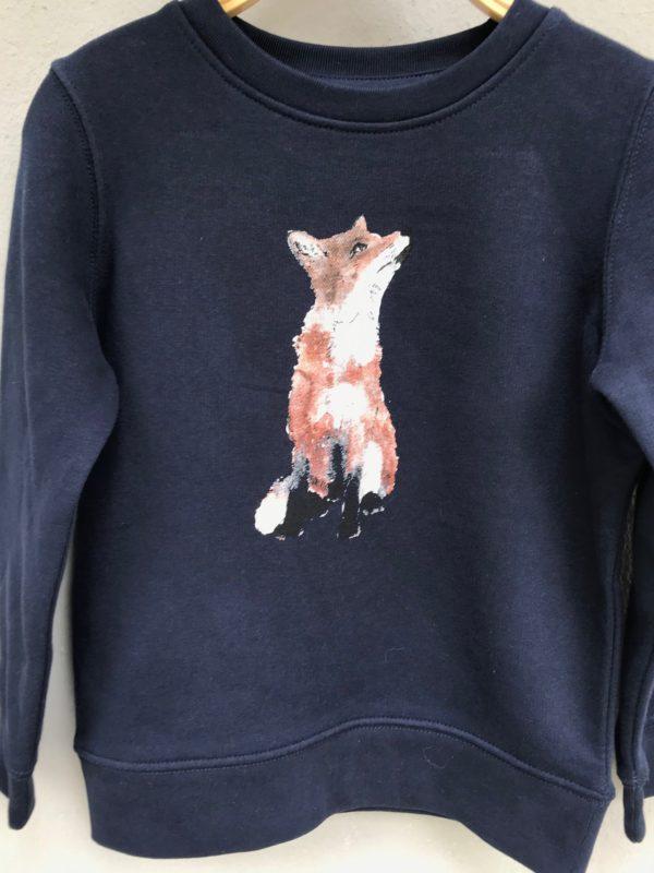 LOVEAFAIR Kinder Sweater Fuchs