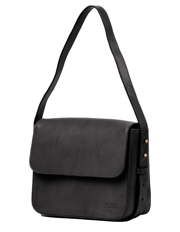 O My Bag Handtasche Gina Black Classic Leather