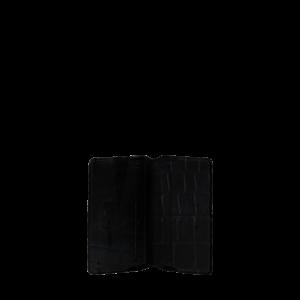 O My Bag Cassies Cardcase Black Croco Classic Leather