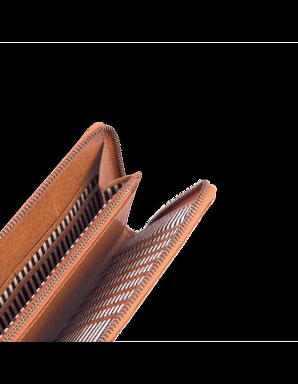 O My Bag Geldbörse Sonny Wallet Cognac Stromboli Leather