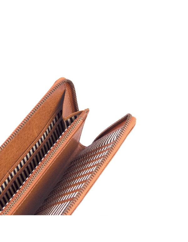 O My Bag Geldbörse Sonny Long Wallet Cognac Stromboli Leather
