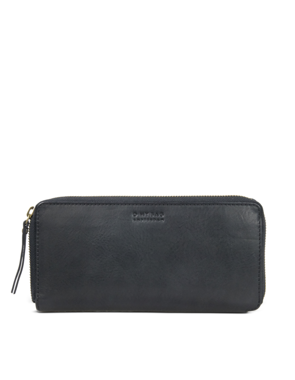 O My Bag Geldbörse Sonny Wallet black Stromboli Leather