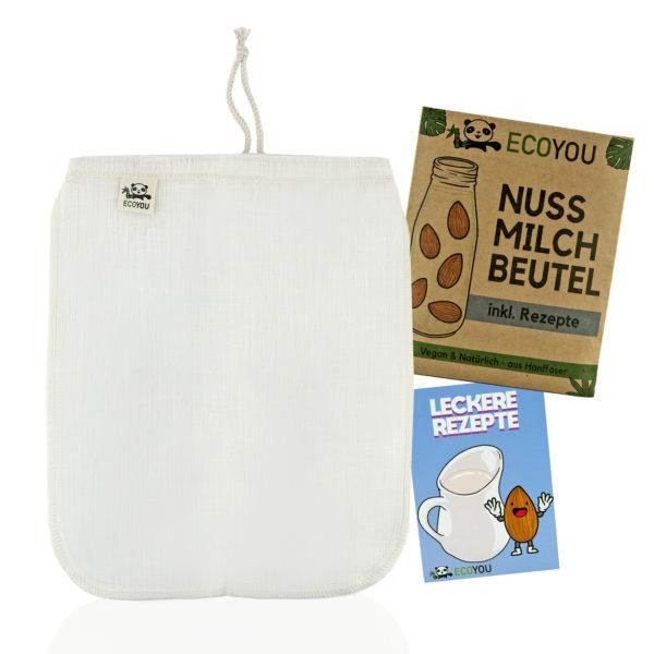 Ecoyou Nussmilchbeutel aus Hanf