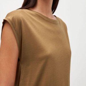 Armedangels Damen T-Shirt Jilaa golden khaki