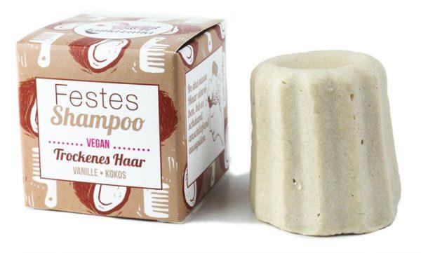 Lamazuna Festes Shampoo für Trockenes Haar