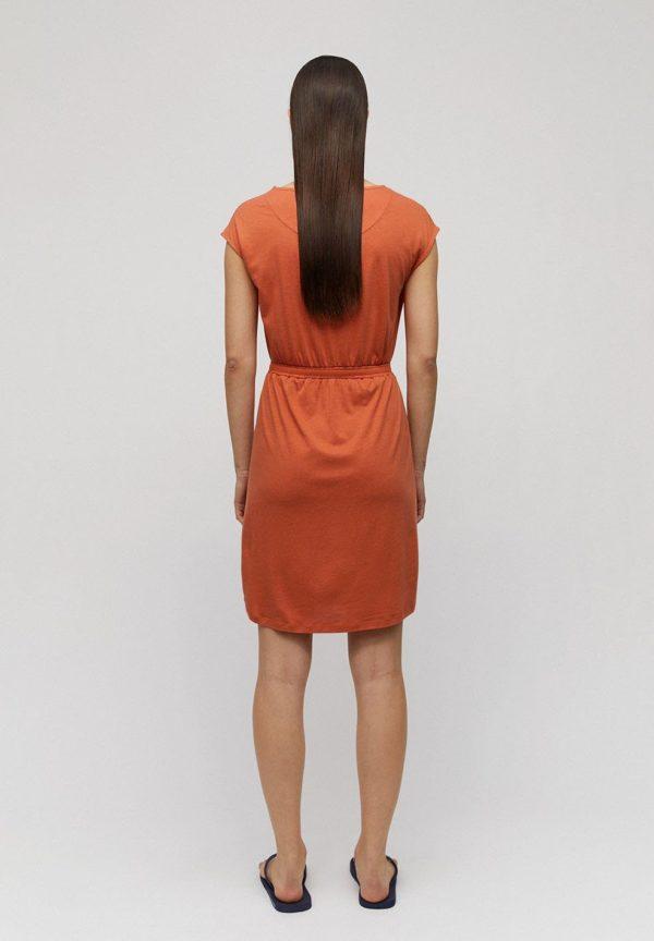 Armedangels Damen Kleid Sonjaa starfish