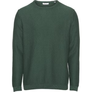 KnowledgeCotton Herren Pullover Field Pineneedle 80595