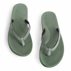 Indosole Damen Flip Flop Leaf