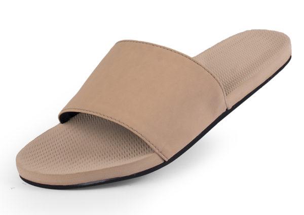 Indosole Damen Schuhe Slides Light Soil Light