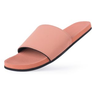 Indosole Damen Schuhe Slides Light Rust