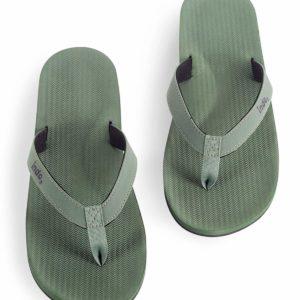 Indosole Herren Flip Flop Leaf
