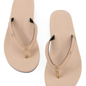 Indosole Damen Flip Flop Soil Light