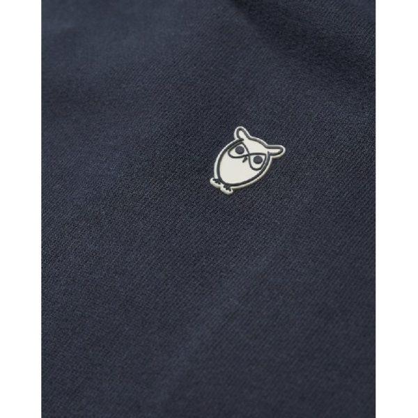 KnowledgeCotton Herren Pullover ELM small owl hoodie 30404